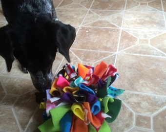 Dog Snuffle Mat Treat Puzzle Small