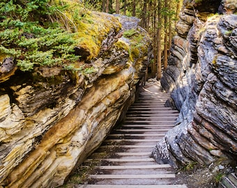 Winding Stairs Through the Rock