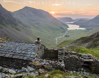 Downloadable prints for sale, Landscape Photography Buttermere Lake District, Instant Download