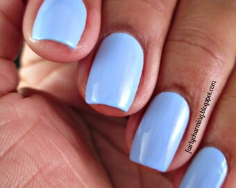 Mediterranean Sky - Faded Sky Blue Creme Nail Polish