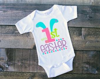 My 1st Easter, Baby 1st Easter, Easter Bodysuit, First Easter, Baby's First Easter, My first Easter Outfit, Easter Outfit, Easter, Baby