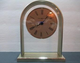 HOWARD MILLER CLOCK, Howard Miller Desk Clock, Living Room Clock, Bedroom Clock