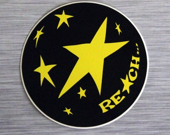 Reach (For The Stars) Outdoor Bumper Sticker