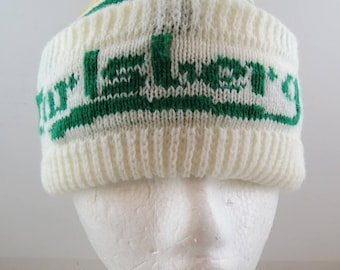 Carlsburg Lager Toque / Wool Hat - Full Wrap Logo - Adult One Size Fits All