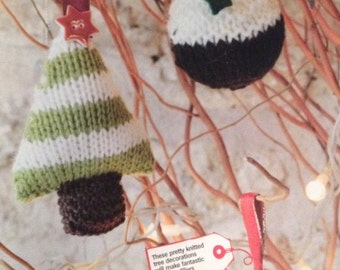 Christmas Baubles Knitting Pattern