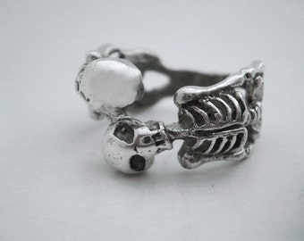 Sterling Silver Ring Skeletons