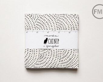 Catnip Charm Pack, Gingiber, Moda Fabrics, Pre-Cut Five Inch Fabric Squares, 48230PP