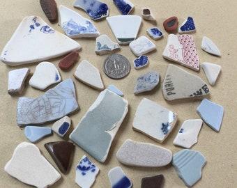 Sea Pottery, bulk sea pottery, sea pottery from New Zealand
