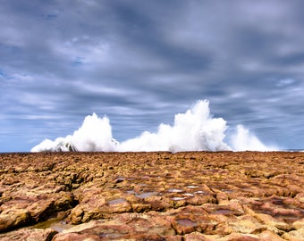 """Large Wall Art, Home Decor, Fine Art, Giclee, Prints, Photography, Landscape, Colour, South Africa, """"Opposing Forces"""""""