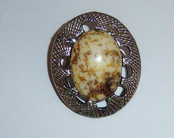 Scottish Style Scarf Clip. Cab Scarf Clip. Mottled Cab Scarf Clip. Scarf Ring. Scarf Clasp.