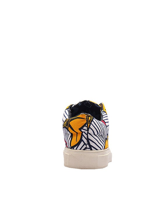 Ankara Cloth Kente African Shoes Kente shoes Sneakers Kente Trainers African Print Sneakers OSE African Kicks African Sneakers qxIwx4FTC