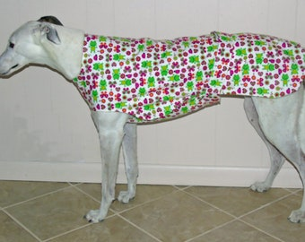 P11 Frogs & Hearts Greyhound Jammie.