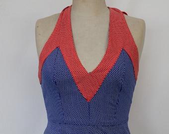 70s Halterneck Dress