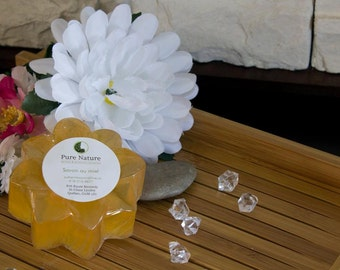 Honey Flavored & Lemon Essential Oil Soap