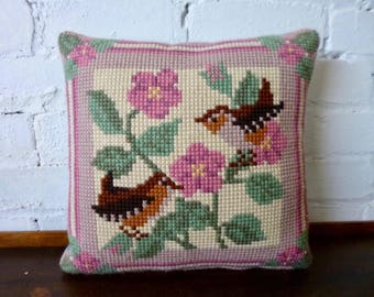 Decorative Vintage Tapestry Cushion
