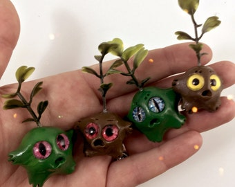 Earth Elemental worry warts //  anxiety worry doll cute meditation relaxation therapy depression mental health