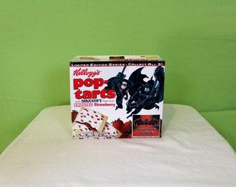 Batman And Robin Pop Tarts. Unopened Box Of Batman And Robin Pop Tarts From 1997. Rare DC Comics Batman Movie Collectible Pop Tarts