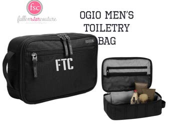 OGIO  Toiletry Bag , Groomsman Gifts , Mens Dopp Kit , Groomsmen Travel Bag, Mens Toiletry Bag , Mens Shaving Bag