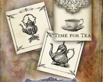 Vintage Teabag Envelopes