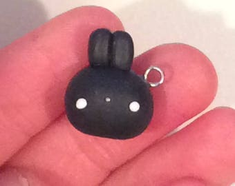 Kawaii Miniature Boba Bunny Charms!