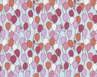 Children at Play On Parade balloons by Sarah Jane for Michael Miller fabrics