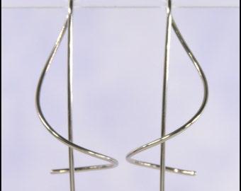 18 gauge niobium Spin 'Em In earrings: SEI18ga1