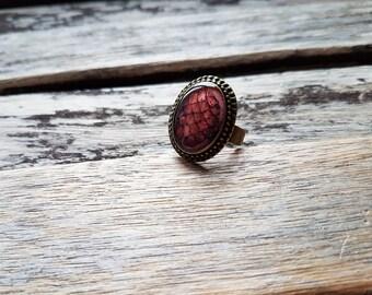 The Khaleesi Red Dragon Egg Ring - Daenerys Targaryen Stormborn Mother of Dragons - Game of Thrones Jewelry-Targaryen Jewelry-Targaryen Ring