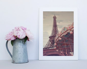 Paris Photography Print, Eiffel Tower Photo, Paris Wall Art, Large wall print, Gift for her, French wall decor, Wall decor, Paris art prints
