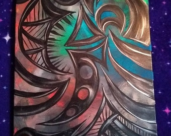 Tribal Abstract Painting