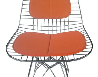 More Colors. Cushion And Back Rest For Eames Wire Side Chair ...