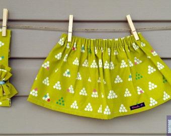 READY-to-GO/READYTOGO - skirt & headband - all - girl - geometric print - Skirt and headband - babyset - babygirl