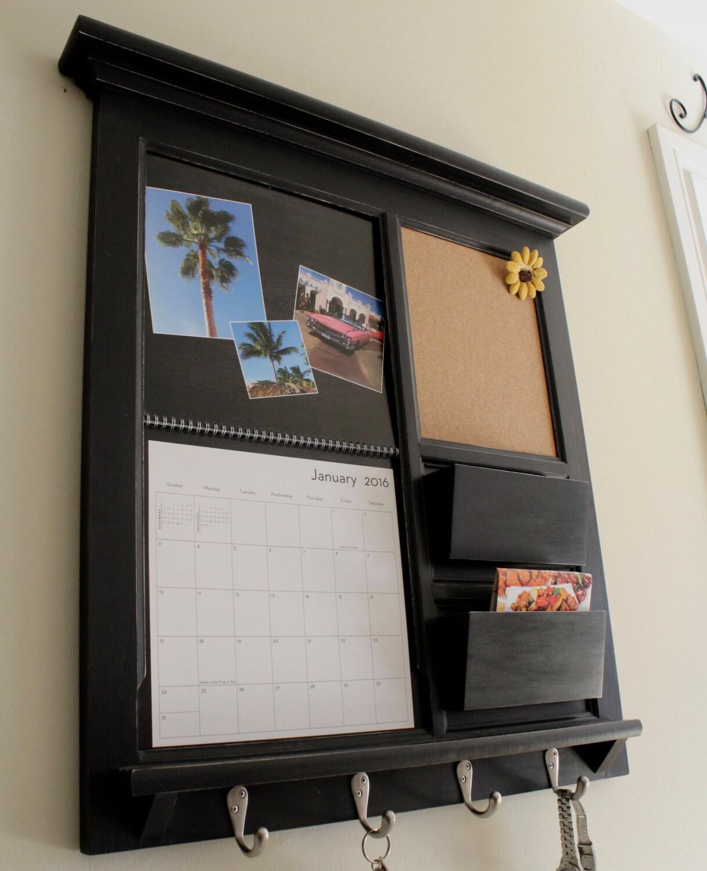 Shutterfly calendar family calendar frame mail organizer for Wall mail organizer with cork board