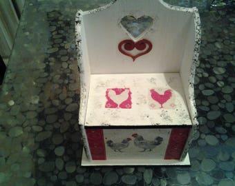 Box for kitchen, salt, matches ecxt...