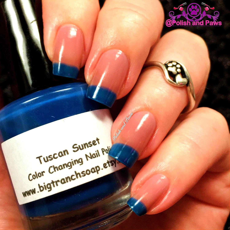 Free U.S. Shipping - Color Changing Thermal Nail Polish - \