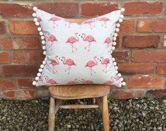 Little Florence Flamingo Cushion