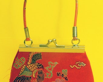 Embroidered Chinese Characters Purse now reduced 20 percent