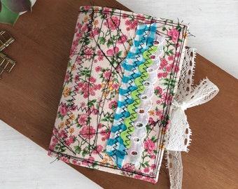 Mini Junk Journal Handmade, Mini Album for Memory Keepsake, Travel, Vacation, Housewarming, Art Collage, Gratitude, Photos, Scrapbook