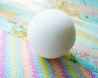 Lime and ginger bath bomb, hidden colour bath bath bomb, bath fizzy, bomb with sweet almond oil, moisturising bath bomb,