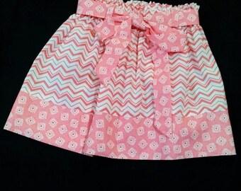Meloney's Design handmade size 4t girls skirt