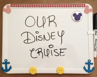 Disney Cruise Stateroom Door Magnet Whiteboard Mickey State Room Magnets FE Gift Fish Extender Gift
