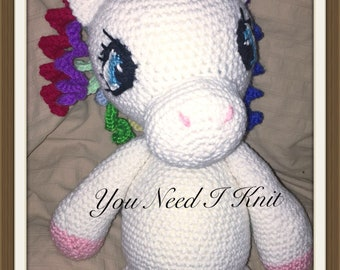 Unicorn amigurumi/ crochet unicorn/ crochet unicorn stuffy/ crochet unicorn plush/ unicorn plush/ unicorn plush baby/ babysafe unicorn