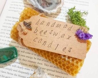 Handmade 100% beeswax spellcandles. Hand rolled candles. Spell candles. Handmade candles. Beeswax candles. Natural candles. Natural beeswax