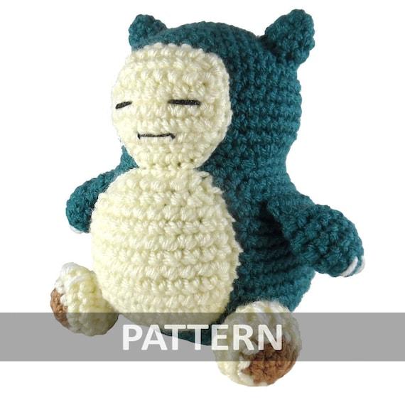 PATTERN Snorlax Amigurumi Crochet Plush PDF