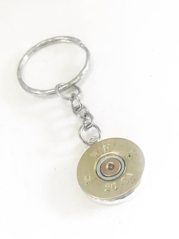 Shotgun Shell Keyring, Shotgun Shell Keychain, Shooting Sports Gifts, Shotgun Shell Gifts, Shooting Sports Awards, Shooting Sports Keychain