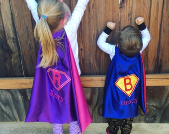 Personalized Cape,Custom Cape,Custom Kids Cape,Kid Cape,party Favor,Christmas gift,Christmas costume,100% handmade high quality cape