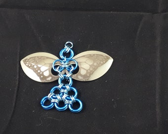 Chainmaille Fairy Pendant