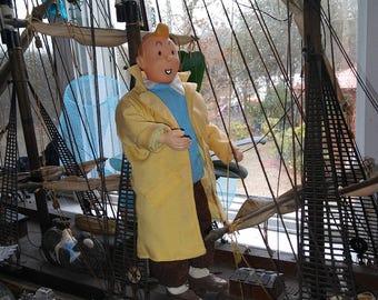 Rare Vintage Tintin Doll