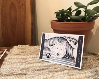 Surfshine Art Postcards- Set of 6
