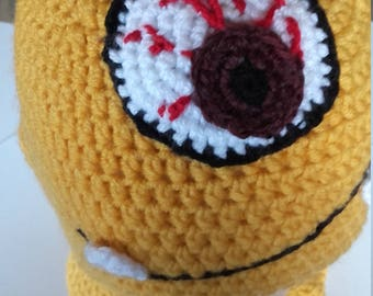 Monster Balaclava Crochet Balaclava Monster Winter Balaclava Monster Hat