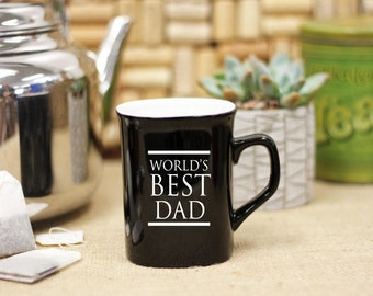 Personalized Coffee Mug, Father's Day Gift, Best Dad Mug, Custom Coffee Mug, Engraved Mug, Personal Engraved Mug --27002-CM01-100